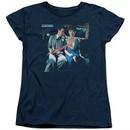 Scorpions Womens Shirt Love Drive Navy T-Shirt