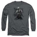 Scott Weiland Long Sleeve Shirt On Stage Charcoal Tee T-Shirt