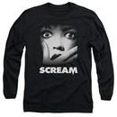Scream  Long Sleeve Shirt Movie Poster Black Tee T-Shirt