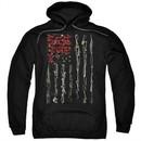 Seether Hoodie Bone Flag Black Sweatshirt Hoody