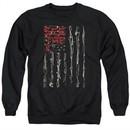 Seether Long Sleeve Shirt Bone Flag Black Tee T-Shirt