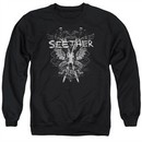 Seether Sweatshirt Suffer Adult Black Sweat Shirt