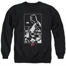 Sin City  Sweatshirt Checklist Adult Black Sweat Shirt