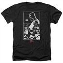 Sin City Shirt Checklist Heather Black T-Shirt