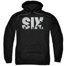 Six A&E TV Show Hoodie Soldier Logo Black Sweatshirt Hoody