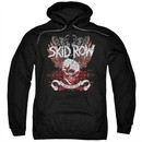 Skid Row Hoodie Winged Skull Black Sweatshirt Hoody