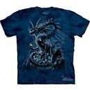 Skull Dragon Shirt Tie Dye T-shirt Adult Tee