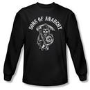 Sons Of Anarchy Shirt Soa Reaper Long Sleeve Black Tee T-Shirt