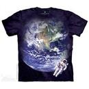 Space View Shirt Tie Dye Adult T-Shirt Tee