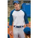 Sport Tek 3/4 Raglan Shirt Baseball Jersey Colorblock Tee T-Shirt