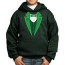 St Patricks Day Kids Hoodie Irish Tuxedo Hoody