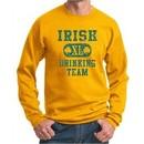 St Patricks Day Mens Sweatshirt Irish Drinking Team Sweat Shirt