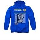 Star Trek Hoodie Tricorder Manual Royal Blue Sweatshirt Hoody