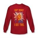 Star Trek Shirt I Got This Long Sleeve Red Tee T-Shirt