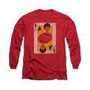 Star Trek Shirt Queen Long Sleeve Red Tee T-Shirt