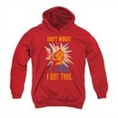 Star Trek Youth Hoodie I Got This Red Kids Hoody