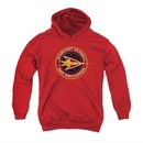 Star Trek Youth Hoodie Red Squadron Red Kids Hoody