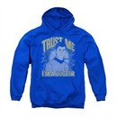 Star Trek Youth Hoodie Trust Me I'm A Doctor Royal Blue Kids Hoody