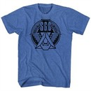 Stargate Shirt SGC Emblem Blue Heather T-Shirt