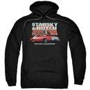 Starsky And Hutch Hoodie Bay City Black Sweatshirt Hoody