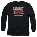 Starsky And Hutch Long Sleeve Shirt Bay City Black Tee T-Shirt