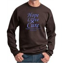 Stomach Cancer Hope Love Cure Sweatshirt