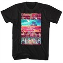Street Fighter Shirt Stage Select Black T-Shirt