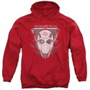 Suicide Squad Hoodie The Way Red Sweatshirt Hoody