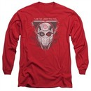 Suicide Squad Long Sleeve Shirt The Way Red Tee T-Shirt