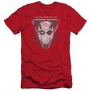 Suicide Squad Slim Fit Shirt The Way Red T-Shirt