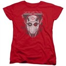 Suicide Squad Womens Shirt The Way Red T-Shirt