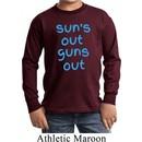 Suns Out Guns Out Kids Long Sleeve Shirt