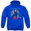 Supergirl Hoodie Classic Hero Royal Blue Sweatshirt Hoody