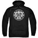 Supergirl Hoodie DEO Symbol Black Sweatshirt Hoody