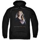 Supergirl Hoodie Standing Tall Black Sweatshirt Hoody