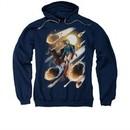 Supergirl Hoodie Sweatshirt #1 Navy Blue Adult Hoody Sweat Shirt