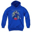 Supergirl Kids Hoodie Classic Hero Royal Blue Youth Hoody