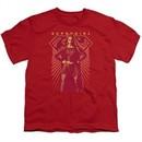 Supergirl Kids Shirt Ready Set Red T-Shirt
