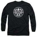 Supergirl Long Sleeve Shirt DEO Symbol Black Tee T-Shirt
