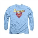 Supergirl Shirt I'm A Supergirl Long Sleeve Carolina Blue Tee T-Shirt