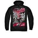 Superman Hoodie Day Of Doom Black Sweatshirt Hoody
