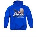 Superman Hoodie Lex Luthor For President Royal Blue Sweatshirt Hoody