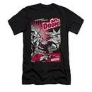 Superman Shirt Slim Fit Day Of Doom Black T-Shirt