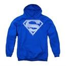 Superman Youth Hoodie Ice Shield Royal Kids Hoody