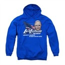 Superman Youth Hoodie Lex Luthor For President Royal Blue Kids Hoody