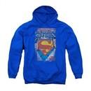 Superman Youth Hoodie The Legend Royal Kids Hoody