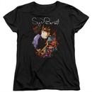 Syd Barrett Womens Shirt Madcap Syd Black T-Shirt