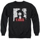 T.Rex Shirt The Slider Long Sleeve Black Tee T-Shirt