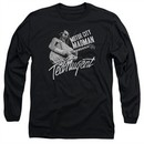Ted Nugent Long Sleeve Shirt Madman Black Tee T-Shirt