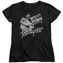 Ted Nugent Womens Shirt Madman Black T-Shirt